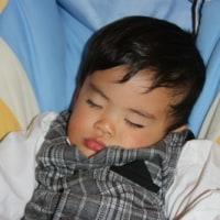 寝巻きですよ(2才10ヶ月14日)