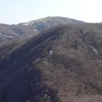 リトル比良から武奈ヶ岳を経て権現岳へ