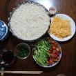 夏のお昼は素麺で !!! — 季語にない 素麺すする 炎昼や 風琴