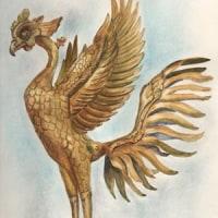平等院 鳳凰像の絵