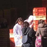 最強寒波襲来中でもめげずに、ブランジェ浅野屋さんサービスパンを求めて夫婦でGO!