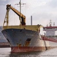 貨物船が運航不能に   カナダPort aux Basques沖合