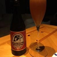自家製ビール…。