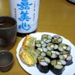 三色蕎麦寿司