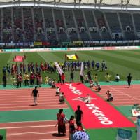 ロアッソ熊本vs水戸ホーリーホック  試合開始
