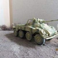 Sd.Kfz.234/2 Puma(1/72)を作る(イタレリ製とハセガワ製との比較)