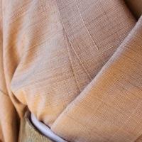 「紬の会'16―冬の装い」工房展・・・着方ミニ塾