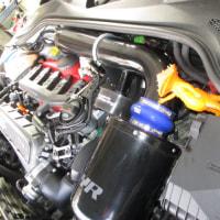 AUDI TTRS ブレーキエアー抜き再作業。