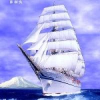 簡単ジグソーパズル Part3 『  帆船:日本丸 』