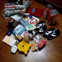 フィリピン向けの支援物資を頂きました