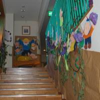 つくも保育園 「創立60周年記念式」、「作品展」