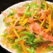 空芯菜と新生姜のサラダ