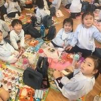 年長組☆体操教室・年少食事交流