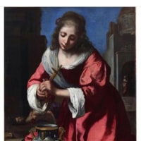 国立西洋美術館に「シャセリオー展」に行ったついでに、常設展に飾ってあるフェルメールが描いた者と言われている《聖プラクセディス》を見てきた