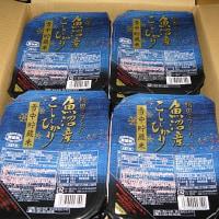 魚沼コシのパックご飯