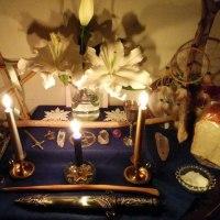 獅子座満月・月食の「エスバット」☆