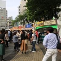 5月1日2日はグランドニッコー東京そして昨日は池袋のオクトフェスト