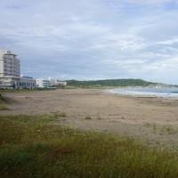『 外房の景色 』。同じようで違う海。久しぶりに御宿に寄ってみました。