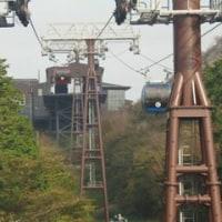 箱根路を行く(駒ヶ岳)