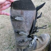 ブーツのメンテ