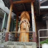 道路から見える場所にこんな立派なモノ 壱岐の塞神社