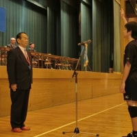 平成28年度沖隆邦杯 中学男子バレーボール大会