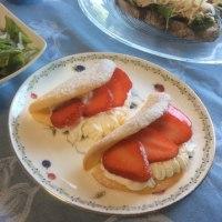 パン・ド・ロデヴを美味しく食べよう!レッスンとその後の苺酵母