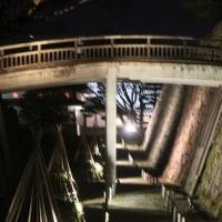 金沢城跡公園のライトアップ ③