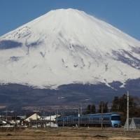 2016年2月17日 富士山撮り鉄2日目