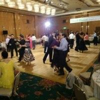 第一部が終わり、ダンスタイム