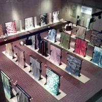 次の訪問着の図案制作開始と、染織作家展
