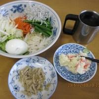 朝ご飯作りました。今朝も、順調