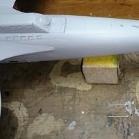モノグラム1/48 ハインケルHe111H製作記 その14・アンテナ切取り&白塗装