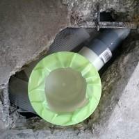 洗濯機排水トラップの交換工事