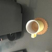やっとコーヒーマシーン使い始めます。