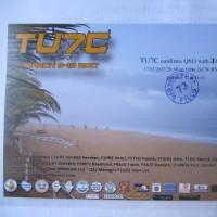 TU7C  QSO 160m