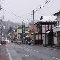 豪雪地帯の鉄道発祥地の街を歩く