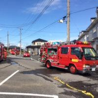 町内で火災が相次いで発生しています、火の元にはご注意を!