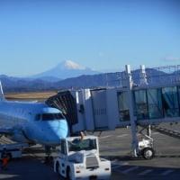 富士山静岡空港から福岡へ!