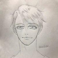 【ユーリ!!!】久々のアナログ画〜ヴィクトル #yurionice #落書き