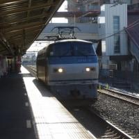 EF66-121号機@吹上駅