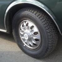 新品タイヤに履き替えて、いざ、銀山温泉へ