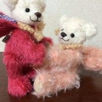 生徒さんの作品 三つ編み着ぐるみベア