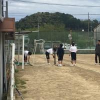 男子テニス部 新入部員