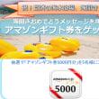【キャンペーン】海開きおめでとうメッセージを残してアマゾンギフト券をもらっちゃおう!!
