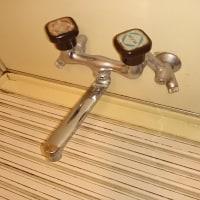 浴室カラン交換しました  札幌市南区  石山 M 邸