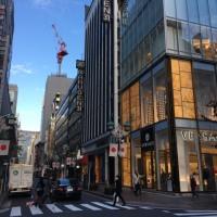 東京散歩  銀座界隈