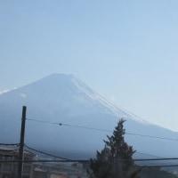 富士山への旅 3・・・・中央道から 2