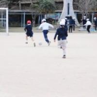 1月16日(月)サッカーゴールの安全を再点検しました