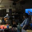 """昨日は先日ブログ仲間のみるくさんのところで・演奏してくれたKさんのスタジオへ"""""""""""